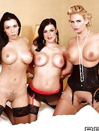 Rachel Starr, Phoenix Marie, Kendra Lust Pictures in..
