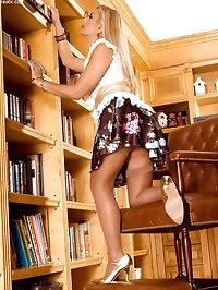 Leggy Librarian