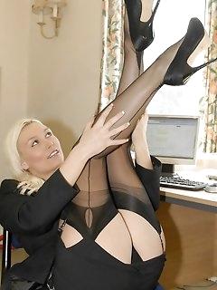 High Heels Nylon Porn