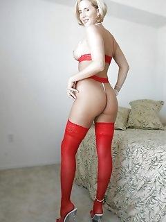 Colorful Nylon Porn